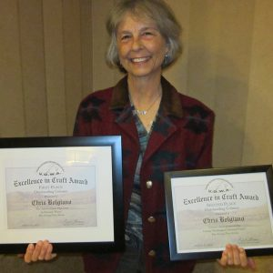 Featured: Chris with Outdoor Writers Association Awards - 2015