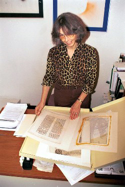 During my time (1980-2005) as Special Collections Librarian at James Madison University, I was thrilled to process such fascinating documents as this medieval manuscript.