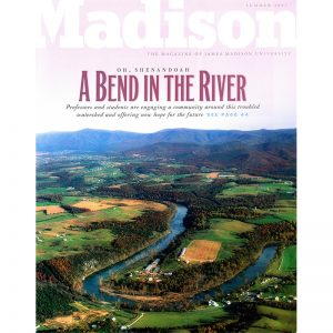 Featured: Madison Magazine Cover - A Bend in the River - Full Page