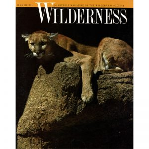 Featured: Wilderness Society cover - Full Page