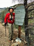 Smaller Gallery Image: Celebrating my 71st birthday in Dec., 2019, by hiking in the legendary Gila Wilderness in NM.