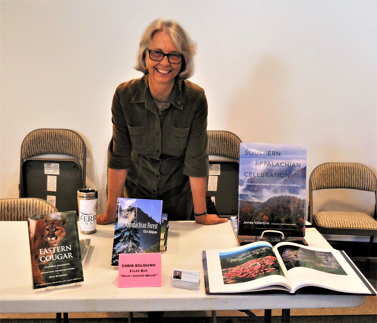Appearing at the Plains District Memorial Museum (Timberville, VA) Meet Our Local Authors Book Signing event in Nov. 2016.